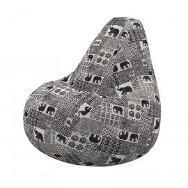 Кресло мешок Бенгала из терможаккарда купить в Минске и Беларуси